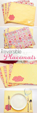 how to make placemats free pattern and tutorial