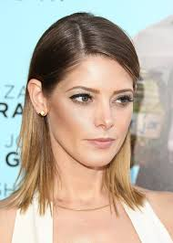 two ear hairstyle ashley greene eyebrows makeup and hair tricks
