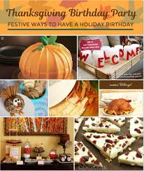 how to plan a thanksgiving birthday with a festive flair