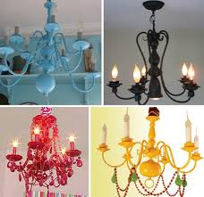Painted Chandelier Or Not Spray Painted Chandelierswashington Dc Painted