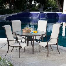 Sling Patio Dining Set - creativeworks home decor patio furniture sets