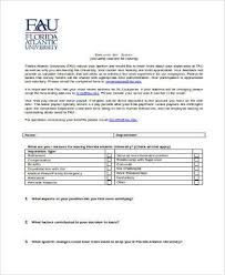 sample employee survey forms 8 free documents in word pdf
