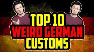 top 10 german customs april fools day