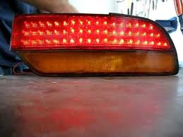 how to make custom led tail lights s13 led tail light project youtube