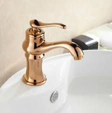 Gold Bathroom Faucet by Rose Gold Bathroom Faucets Suppliers Best Rose Gold Bathroom