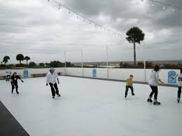 slick synthetic ice home skating rinks made affordable and easy
