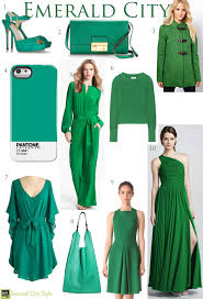 Emerald Green Home Decor by Spring Fashion Trend Follow The Yellow Brick Road To Pantone Has