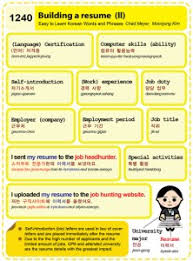 building a resume website easy to learn korean 1240 u2013 building a resume part two easy