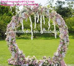 Wedding Arches Pics Round Flower Arch Stand Metal Wedding Arch For Weddings Decoration