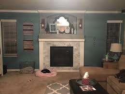 Painted Shiplap Walls Just Another Day In Paradise Shiplap Fireplace Wall