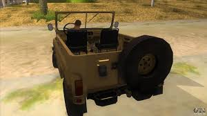 uaz 2016 uaz 469 desert for gta san andreas