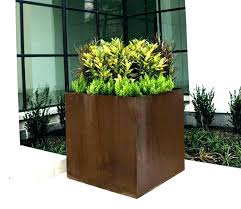 large concrete planter large outdoor planters for trees youtubeindir
