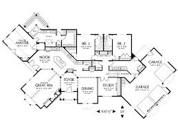 Garage House Floor Plans Plan 034h 0199 Find Unique House Plans Home Plans And Floor