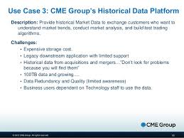 big data at cme group challenges and opportunities
