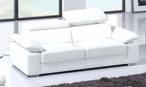 canapé cuir blanc 3 places incroyable canapé convertible 4 places canape canape cuir blanc 3