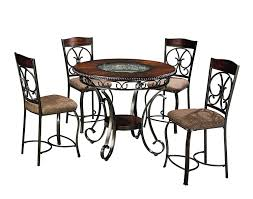 48 round table fits how many amazon com ashley furniture signature design glambrey dining
