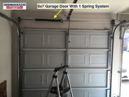 Garage Doors Charlotte Nc by Garage Door Torsion Vs Extension Springs Which One Is Better