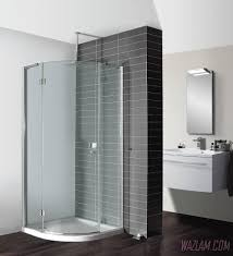 bathroom shower acrylic shower tray showers glass tub doors