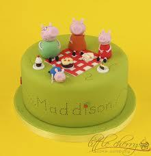 25 peppa pig birthday cake ideas images peppa