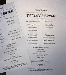wedding program size designs classic free wedding program templates for openoffice