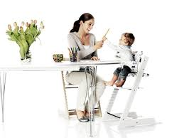 bring your baby to the dinner table with the stokkebaby tripp