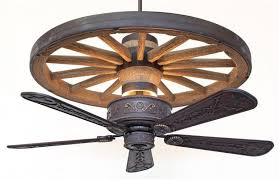 western ceiling fans with lights canyon western star wagon wheel ceiling fan