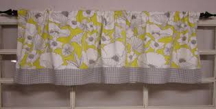 Yellow Gingham Valances by Swiss Dot Kitchen Curtains Home Design And Decoration