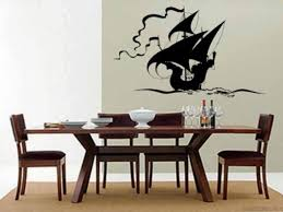 Dining Room Decals Baby Room Pirate Wall Decals Inspiration Home Designs