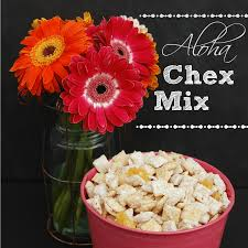 aloha chex mix endlessly inspired