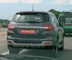 2016 Ford Endeavour Titanium 4x4 Snapped In Chennai