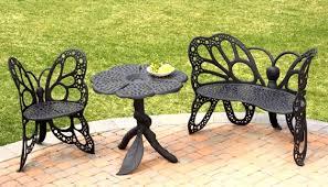 Butterfly Bench Amazing Butterfly Garden Chair Set Garden Furniture