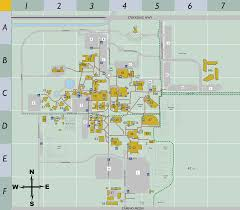 Colorado College Campus Map by Campus Map Csu Bakersfield