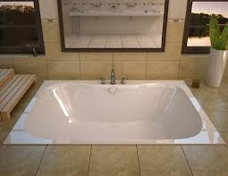 venzi flora 48 x 60 rectangular whirlpool jetted bathtub with