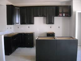 kitchen backsplash ideas espresso with black white glass dark