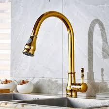 online buy wholesale gold brass kitchen faucet pull from china