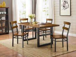 Better Homes And Gardens Dining Room Furniture Better Homes And Gardens Mercer 7 Piece Dining Set Walmart Com