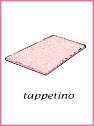 tappeto disegno carte