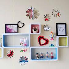 flower wall art stickers shenra com 12x 3d flowers sunflower mirror flower effect sticker decal home