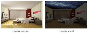 decoration etoile chambre décoration chambre d enfant avec un ciel étoilé au plafond