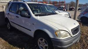 1999 mercedes ml 430 used 1999 mercedes ml430 front bumper reinforcement fro