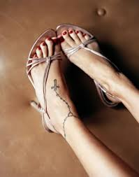 cross on ankle for tattoomagz