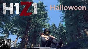 h1z1 battle royale halloween event scarecrow mask youtube