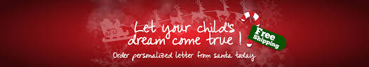 personalized christmas letters from santa package from santa