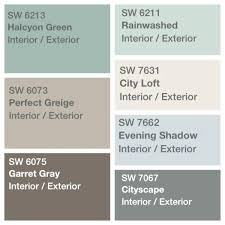 Sherwin Williams 2017 Colors Of The Year Sherwin Williams Most Popular Exterior Colors 2015 Sherwin