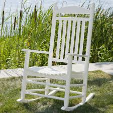 Outdoor Rocking Chairs Cracker Barrel Polywood U0026reg Jefferson Recycled Plastic Rocking Chair Walmart Com