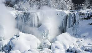 polar vortex 2016 will a frozen niagara falls freeze with