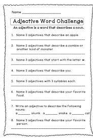 167 best adjectives images on pinterest english grammar