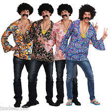 polyester tops u0026 shirts disco fancy dresses for men ebay