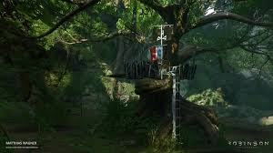 artstation robinson journey tree house psvr matthias
