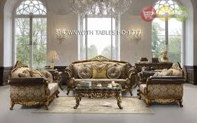 Leather And Fabric Living Room Sets Traditional Sofa Set Formal Living Room Furniture